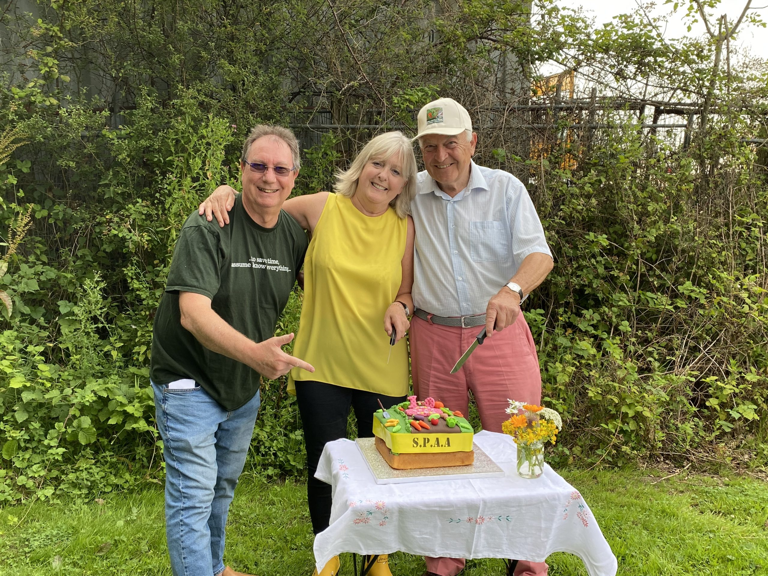 SPAA celebrates 10th birthday with a BBQ party